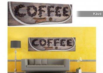 Modern szobadekorálás, stílusos vászonképpel