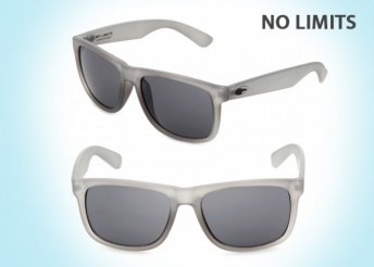 No Limits divatos unisex napszemüvegek UV 400-as védelemmel, ruhatokkal