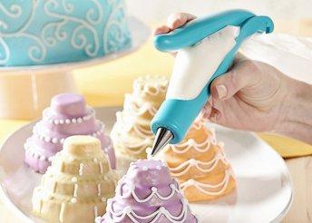 Ergonomikus, süteménydekoráló toll