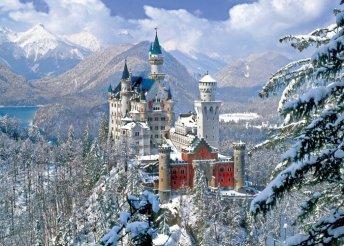 A mesés Neuschwanstein kastély és Salzburg