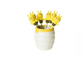 6 darabos méhecskés gyümölcs villa
