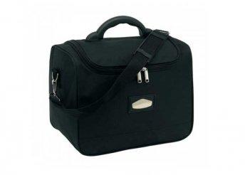 Laser Plus kozmetikai táska, fekete színben