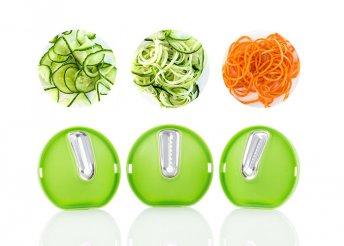InnovaGoods Kitchen Foodies 3 az 1-ben spirális zöldségvágó