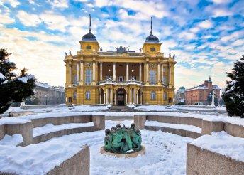 Éld az adventi varázst Zágrábban és Grabovnicában 4-csillagos szállodában, buszos utazással, 2 nap / 1 éjszaka