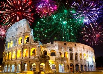 Szilveszteri séta és mulatság Rómában