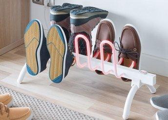 Elektromos cipőszárító állvány