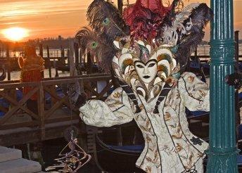 Látogatás a mesés velencei karneválra