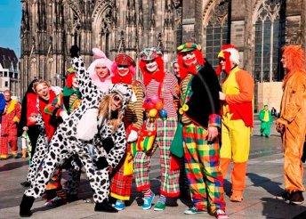 Kölni Karnevál - buszos utazás, szállás 4-csillagos szállodában, reggelis ellátással 1 személy részére