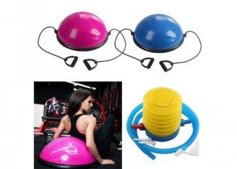 Egyensúly labda kék vagy pink színben