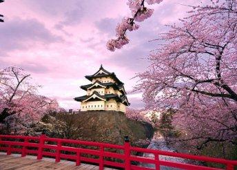 Japán körutazás cseresznyevirágzáskor