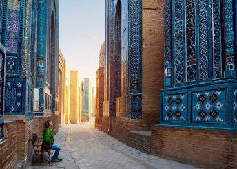 9 napos üzbég körút utazással, idegenvezetés+szállás+félpanzió