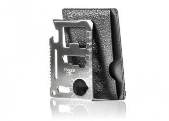 Ninja Wallet - hitelkártya méretű, 18 szerszámot rejtő multifunkcionális eszköz
