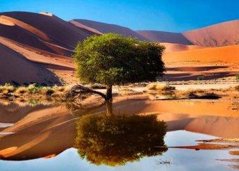Namíbiai körutazás repülőjeggyel, szállással, félpanziós ellátással, idegenvezetéssel, utasbiztosítással