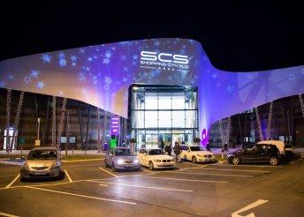 Vásárlás a Bécs-közeli Shopping City Südben