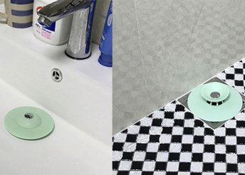 Fürdőszobai hajfelfogó szűrő