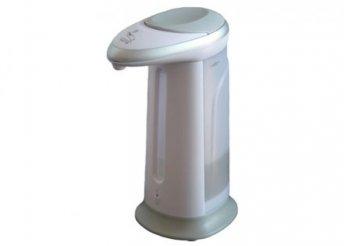 Modern, rendkívül egyszerűen használható, higiénikus, automata, szenzoros szappanadagoló