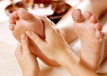 Relaxáló, kényeztető lábmasszázs 30 percben