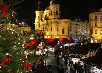 Adventi városnézés Prágában