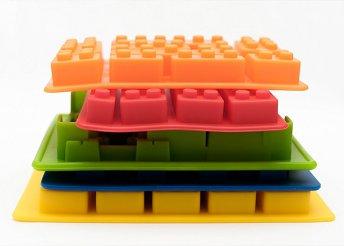 8 részes LEGO alakú szilikon forma