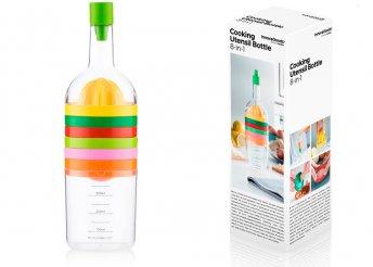 InnovaGoods 8 az 1-ben palack konyhai eszközökkel (8 darabos)