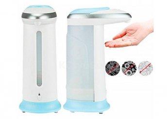 Modern, rendkívül egyszerűen használható, automata szappanadagoló