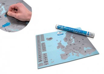 Kaparós Európa-térkép kalandoroknak