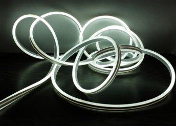 Kültéri LED-es programozható világító cső - fehér