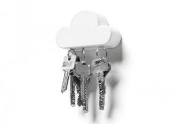 Felhő alakú mágneses fali kulcstartó