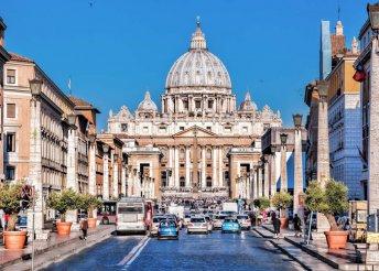 3 nap Rómában, 3*-os hotelben reggelivel, március 16-ig