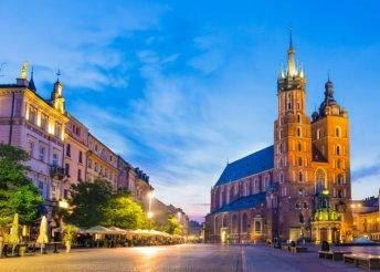 Krakkói városnézés négycsillagos szállással