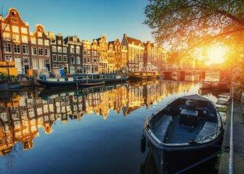 Városnézés észak Velencéjében, Amszterdamban