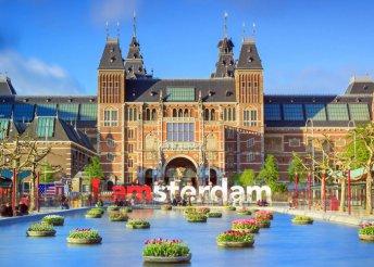 Piros lámpás negyed és Van Gogh Múzeum