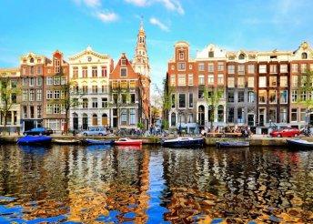 3nap Amszterdamban, 2főre 3*-os szállás+reggeli