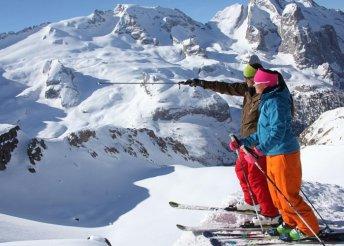 Síelés és havas kalandok az Alpokban