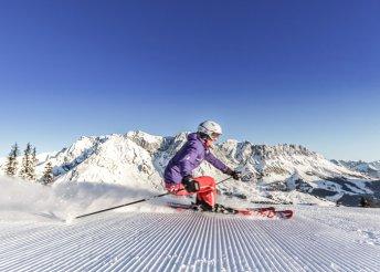 Februári síelés Dél-Tirolban