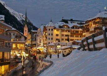 Ischgl szezonnyitó síelés december elején