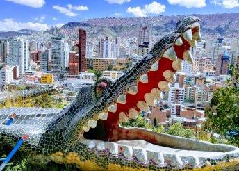16 napos körút Bolíviában, 4*-os hotelben idegenvezetéssel