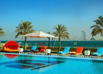 Pihenés a dubai Aloft Palm Jumeirah hotelben