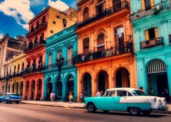 12 nap Kubában 5*-os hoteben teljes ellátással, idegenvezetéssel