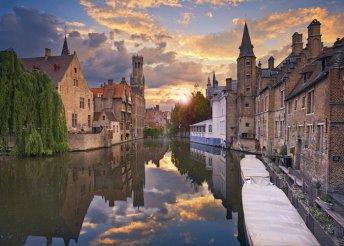 7 nap Brugge, London és Párizs, buszos utazással, idegenvezetéssel