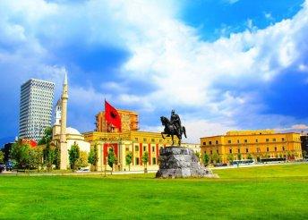 7 napos körutazás Albániában - 4* reggelivel+buszos utazással