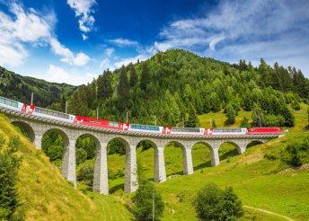 6 nap Svájcban 4*-os hotelben félpanzióval, buszos utazással