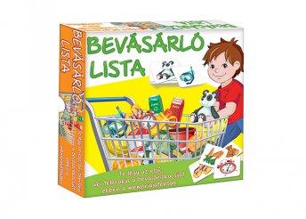 Bevásárló lista társasjáték