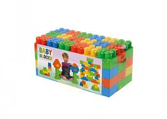 Baby Blocks építőkocka, építőjáték szett 54 db-os