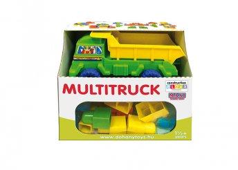 Maxi blocks építőkockák, építőjáték dömperrel