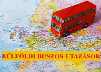 Külföldi buszos utazások