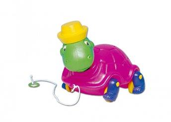 Húzós teknősbéka gyerekeknek