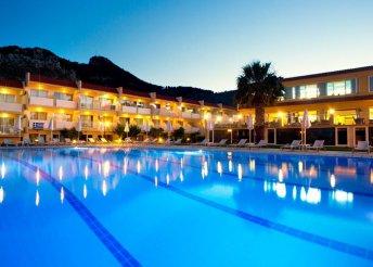 12 nap vakáció Rodoszon, 4*-os hotelben AI ellátással, repülőjeggyel