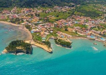 8 napos nyaralás Korfun - félpanzióval, buszos utazással