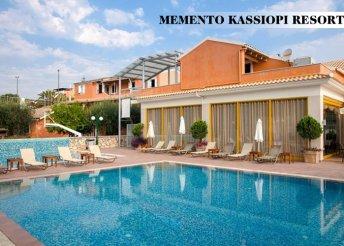 8nap Korfun, választható 4*-os hotelben, ellátás+repülőjegy